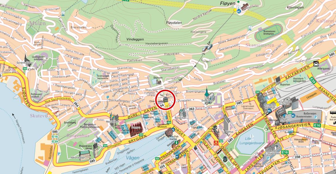 【卑爾根】Fløyen 佛洛伊恩山纜車與觀景台 — 擁抱文化港都的百萬美景 78