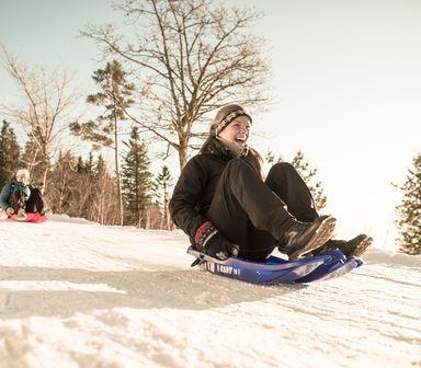 Vinterdag ved Skomakerdiket