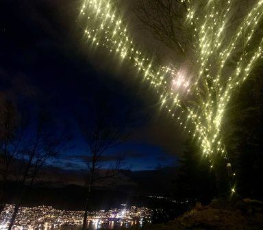 Lysfestival på Fløysletten