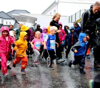 Fløyspurten - barneløp på Fløyen