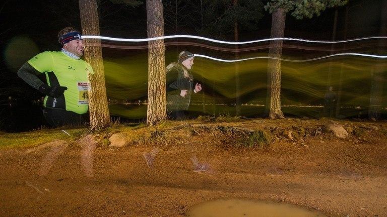 Nightrun på Fløyen