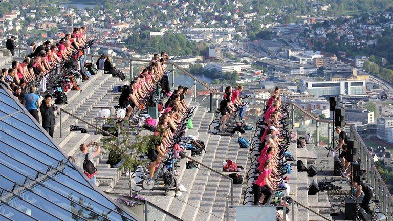 Spinningfestival på Fløyen 9/6 kl. 17-18