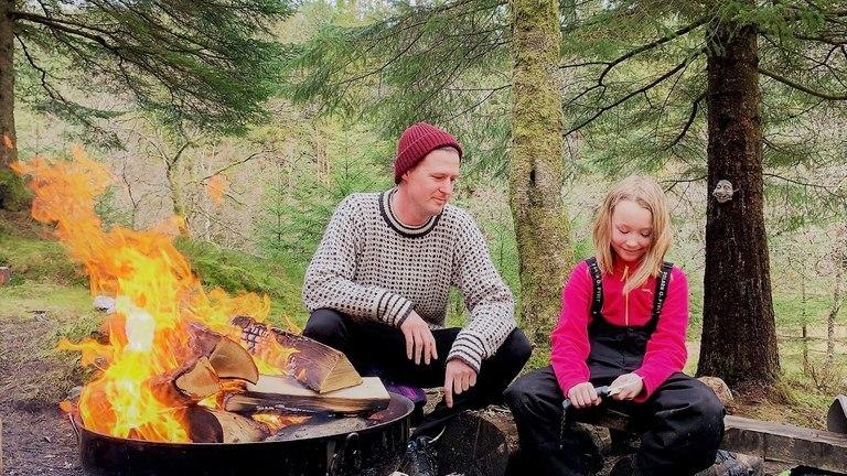 Vinterferie på Fløyen